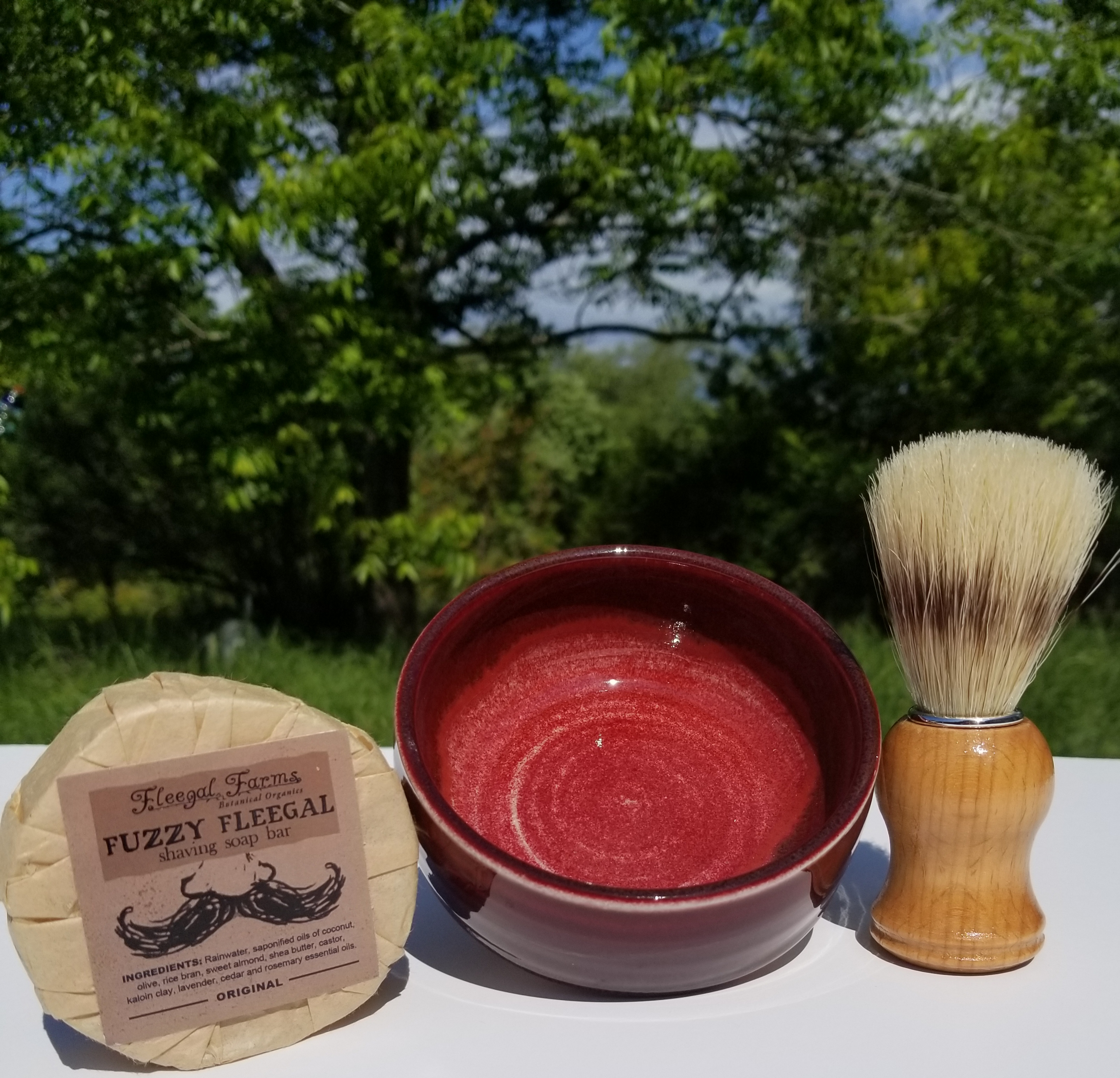 Shave Set #8 w/ Fuzzy Fleegal (Original)